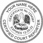 Certified Court Seals